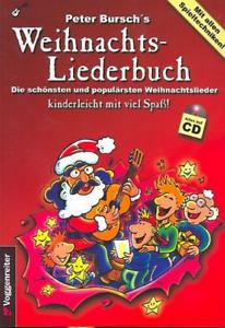 für Gitarre mit Noten//Tab +CD Peter Bursch/'s Weihnachtsliederbuch
