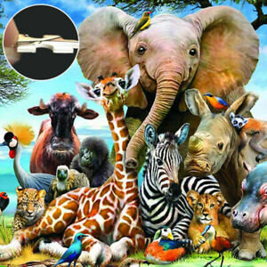 A+1000 Pieces Animal World Jigsaw Puzzles Adult Kids Educational Puzzle Toy Gift