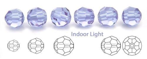 Preciosa Genuine Czech Round MC Faceted Crystals Alexandrite Beads 6mm,8mm,9mm