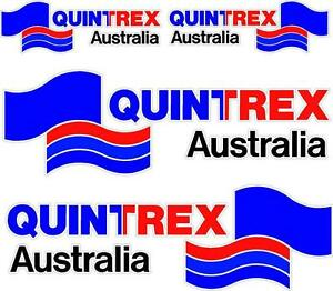 QUINTREX DECAL SET OF  BOAT DECALS EBay - Decals for boats australia