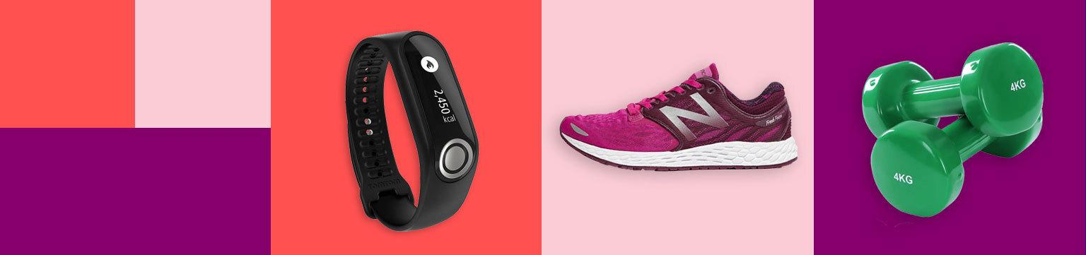 20% off Sports, Fitness & Yoga Equipment