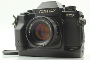 [ Look ] CONTAX RTS III Zeiss Planar 50mm F1.4 T AEJ Lens from JAPAN