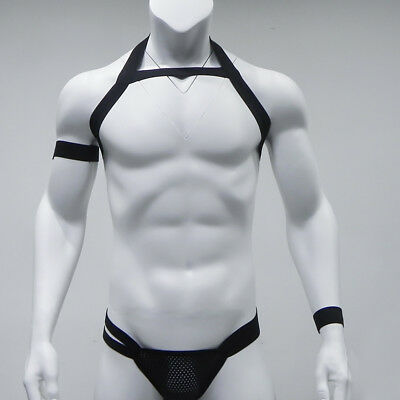 muscle Collar chain man naked