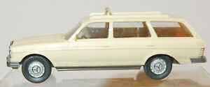 MICRO-WIKING-HO-1-87-MERCEDES-BENZ-250-T-CREME-TAXI-no-box-occasion