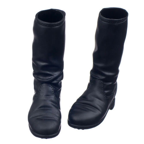 1//6 Scale Soldier Flat Heel Knee-high Boot Shoes for 12inch Action Figures