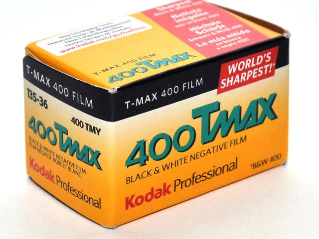 Película 35mm Rollo BN blanco y negro Kodak TMax T-Max TMY 400 135-36