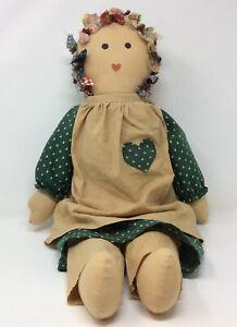 Handmade Primitive Rag Doll