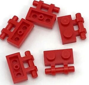 Lego Lot of 100 New White Plates Modified 1 x 2 with Handle on Side Pieces