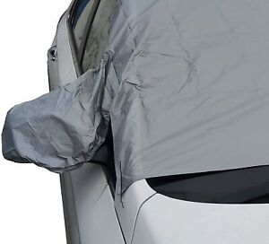 Magnetic Car Windscreen Frost Ice Snow Protector Cover & Wing Mirror Sun Shield
