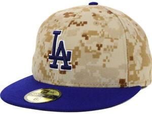 Los Angeles Dodgers 8 New Era 59FIFTY Camo Baseball MLB Memorial ... 5ee2540fdf9f