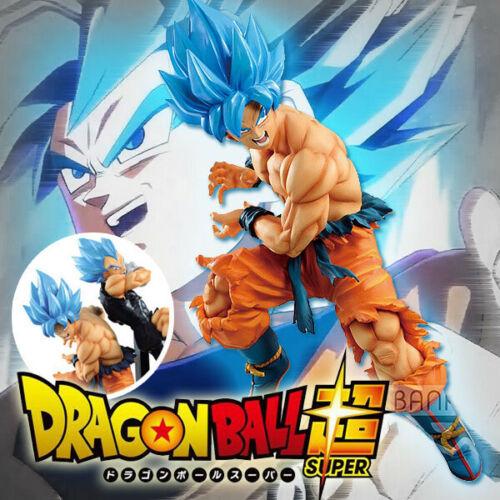 DBZ Dragon Ball Z Super Tag Fighters Super Saiyan Blue Goku Figure 17cm NoBox