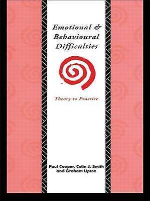 1 of 1 - Emotional and Behavioural Difficulties: Theory to Practice-ExLibrary
