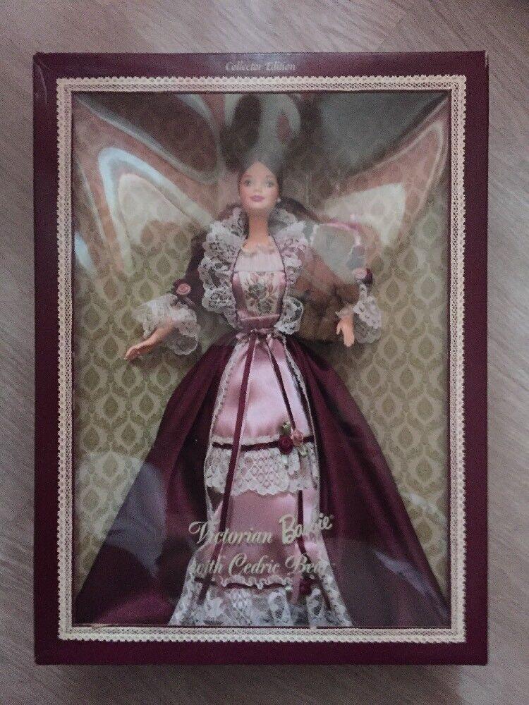 1999 Barbie Victorian Whit Cedric Bear Nrfb