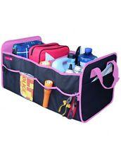 Simply Pink Foldable Car Van Truck Boot Trunk Storage Organiser