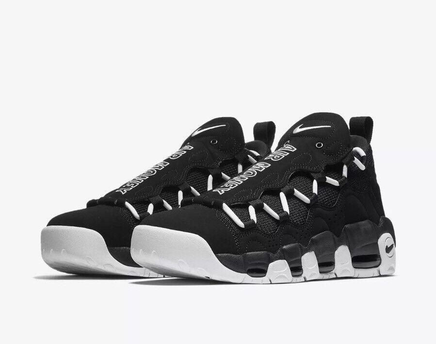 Nike air piu 'soldi sz rari 13 nero bianco aj2998-001 rari sz di nuovo! e1187f