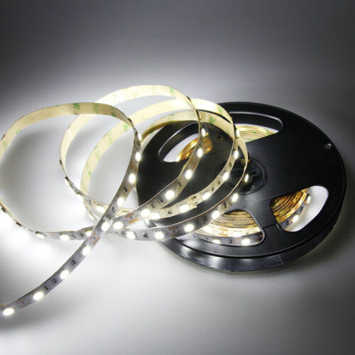 Cool White 5M LED Strip Lights SMD 5050 300leds Flexible Lamp DC12V Super Bright