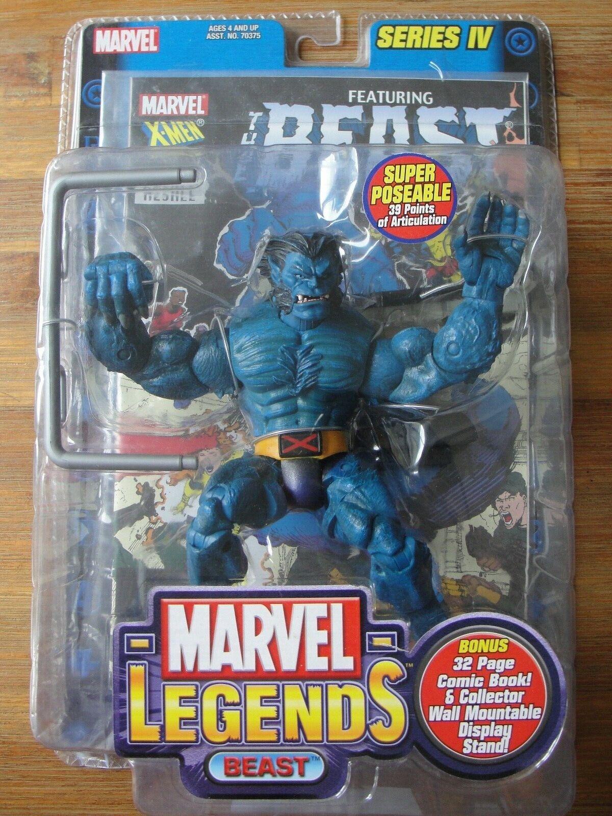 comprar ahora JugueteBiz Marvel Marvel Marvel Legends Series Iv súper Poseable Bestia Figura Nuevo  buscando agente de ventas
