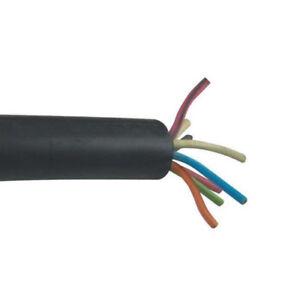 100/' 10//8 SOOW Portable Power Cable Flexible CPE Jacket Black 600V