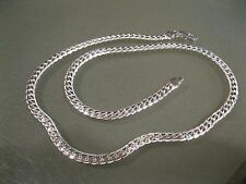"5MM 925 Sterling Silver Necklace Chain 20"" inch Fashion Men Women"