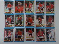 1989-90 O-Pee-Chee OPC Chicago Blackhawks Team Set of 15 Hockey Cards
