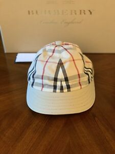 9e054b8f95b Image is loading Burberry-London-Gosha-Rubchinskiy-Honey-Nova-Check-Baseball -