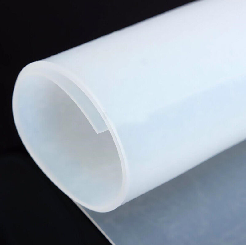 1mm Thicknes 20 Quot 20 Quot Silicone Rubber Sheet Plate Mat High
