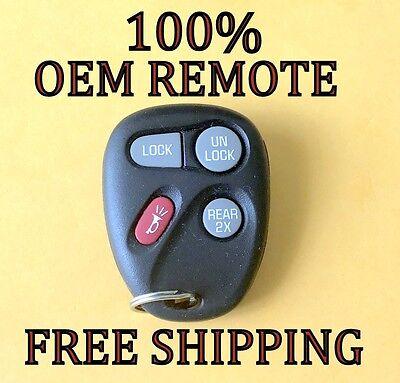 Original GM CHEVROLET GMC SUV VAN keyless entry remote fob transmitter 15043458
