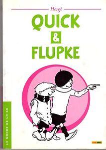QUICK-ET-FLUPKE-RARE-EDITION-LUXUEUSE-HORS-COMMERCE-JOURNAL-BELGE-LE-SOIR