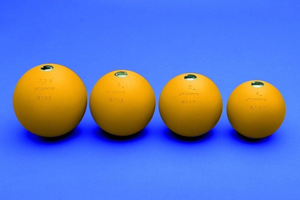 POLANIK - bola competición PK - lanzamiento de peso - 4 kg 95 100 105 108 110 mm