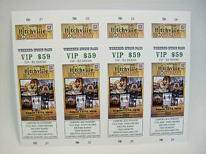 500 Custom Printed Tickets - Event Concert Raffle, Full Color ...