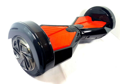 Noir 8 in (environ 20.32 cm) Hoverboard Self Balancing Scooter Lamborghini certifié UL 2272