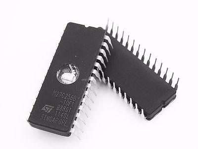 5PCS M27C128-12F1 DIP-28