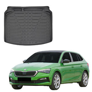 Tailored Boot tray liner car mat Heavy Duty for SKODA SCALA HATCHBACK 2019-up