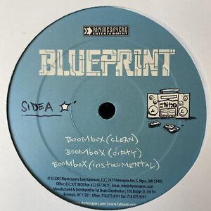 "BLUEPRINT - BOOMBOX / LO-FI FUNK / DEAD PRESIDENTS (12"")  2005  RARE  AESOP ROCK"