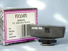 LESTER DINE NISSIN TTL PENTAX DPM-PK FLASH SHOE MODULE