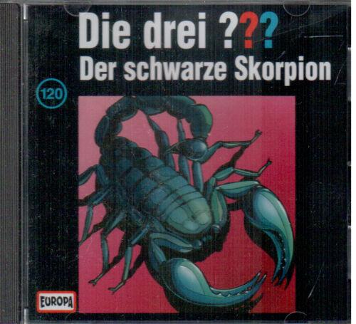 1 von 1 - Die drei ??? Fragezeichen - Der schwarze Skorpion - CD 120 - gebraucht