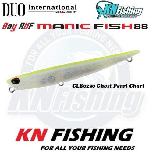 """DUO /""""BAY RUF MANIC 88/"""" Fishing Hard Lures Long Cast Sea Fishing Freshwater 11gr"""