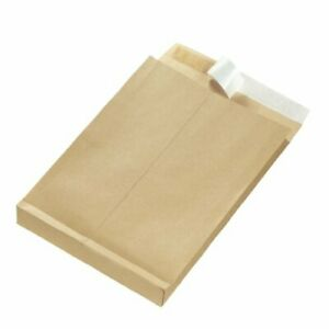 Herlitz 130 Gsm B4 Peel And Seal à Soufflet Enveloppe 25 Pieces-afficher Le Titre D'origine Blanc Pur Et Translucide