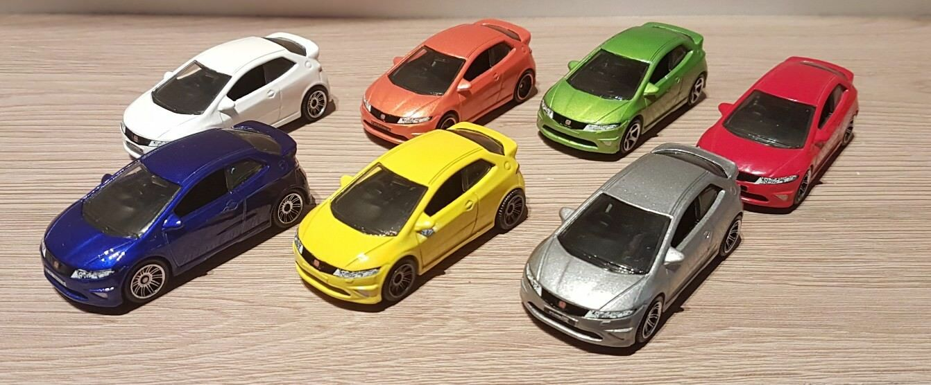 MATCHBOX Honda Civic Tipo R Job Lot