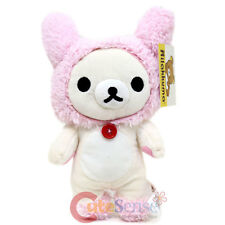 """San x Rilakkuma Korilakkuma Mascot Plush Doll with Bunny Hat 9""""  Soft Plush Toy"""