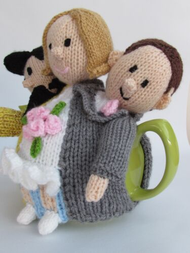 Married by Elvis in Las Vegas Tea cosy Knitting Pattern to knit your own