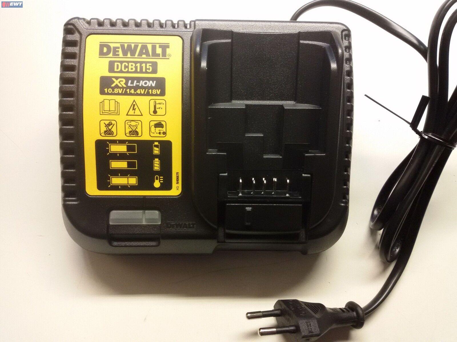 DeWALT DCB115 DCB 115 System-Schnellladegerät 10,8 - –18,0 V