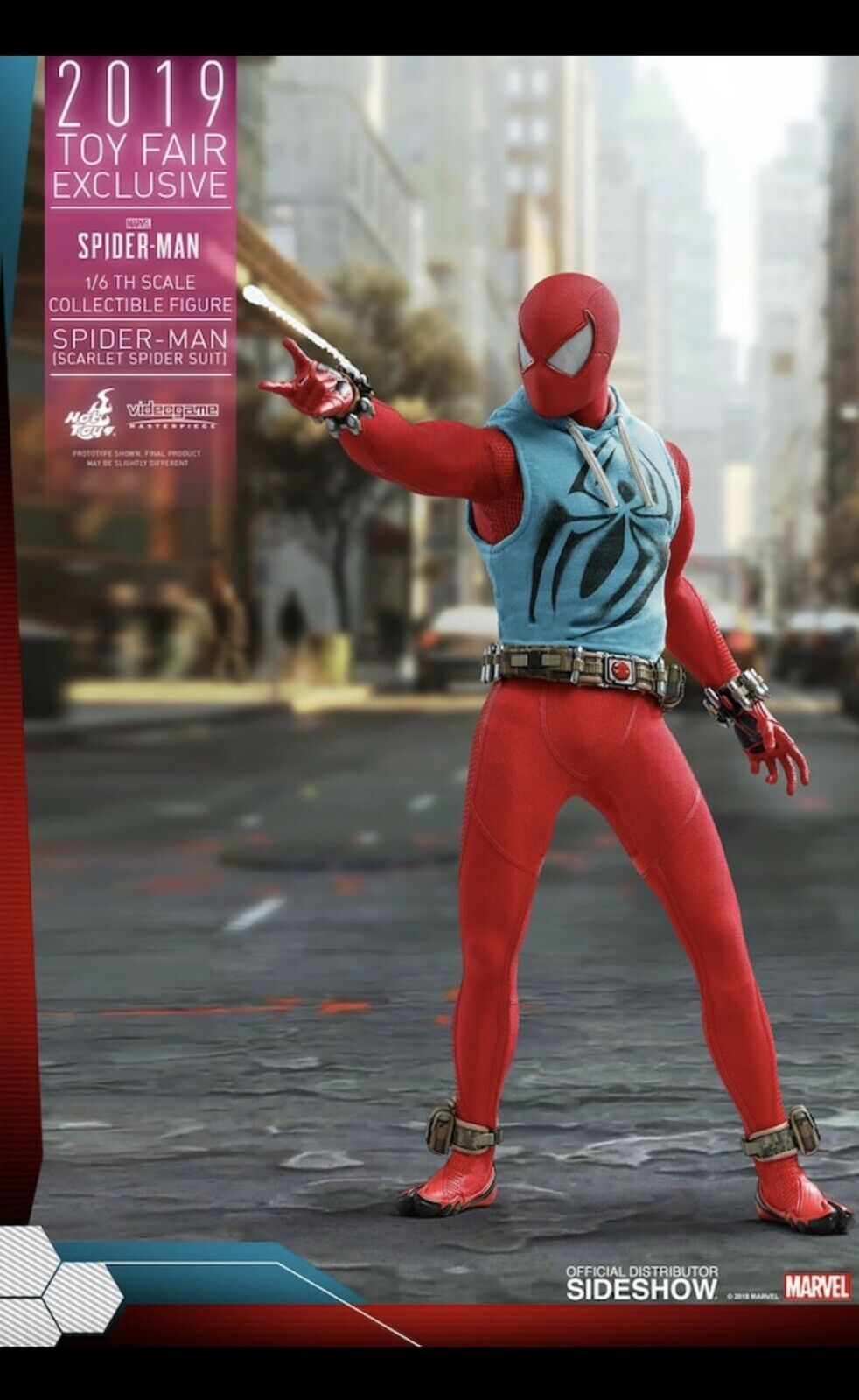 Spider-uomo (Sautolet Spider Spider Spider Suit) Sixth Scale cifra by Caliente giocattoli Preorder 5d5036