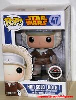 Funko 2015 Pop Star Wars Han Solo 47 (hoth) Game Stop Exclusive In Stock