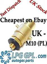 LPG GPL FILLING POINT ADAPTER PL EUROPE --> UK M10 Propane Autogas adaptor glp