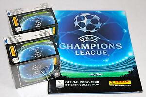 Panini-Ligue-des-champions-2007-2008-07-08-2-x-display-box-sealed-neuf-dans-sa-boite-1-X-Album