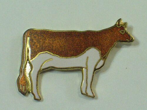 Rasse Guernsey oder Ayrshire Kuh Pin LG Sz