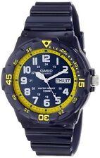 Casio MRW200HC-2B Mens 100M Blue Diver Classic Sports Watch NEW Resin GLOSSY