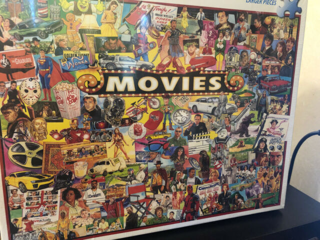 White Mountain Jigsaw Puzzle The Movies 1000 Pieces NEW SEALED