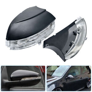 Wing-Mirror-Indicator-LED-Turn-Signal-Light-Cover-Left-Side-For-VW-Golf-MK6-UK